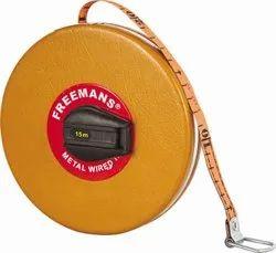 Freemans Fiber Glass Measuring Tape Size - 15 mtr