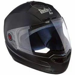 Steelbird SBA-1 Classic Plain Vision Helmet For Safety