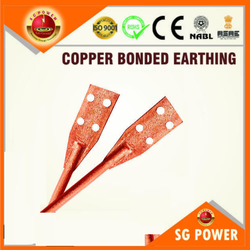 SG325 RCB Copper Bonded Earthing Rod