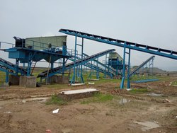 Motorized Vibrating Screen Plant