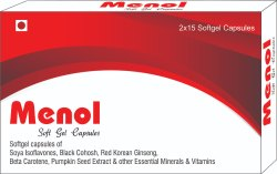 Soft Gelatin Capsules of Soya Isoflavones Red Clover Isoflavones Evening Primrose Oil Beta Carotene