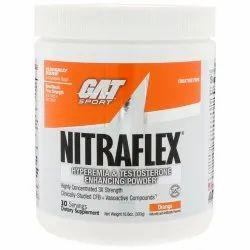 GAT Nitraflex Orange Flavoured Pre Workout Supplement