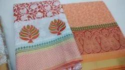 Banarasi Silk Indian Sarees, Without Blouse Piece