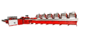 Flowline 6-Head Saddle Stitcher