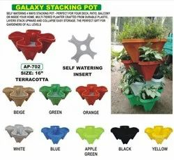 Terracotta Galaxy Stacking Pot