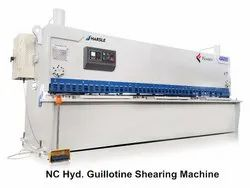 NC Hydraulic Guillotine Shearing Machine