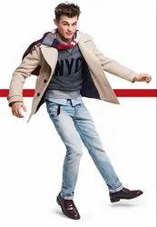 Denim Casual Wear Branded Mens Jeans Stock Lot