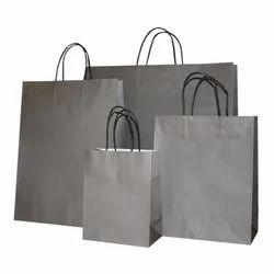 Grey Paper Bags