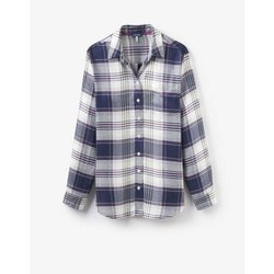 Full Sleeve Checks Cotton Ladies Shirt