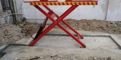 Mild Steel Suv Four Wheeler Lift, Capacity: 2-4 Ton