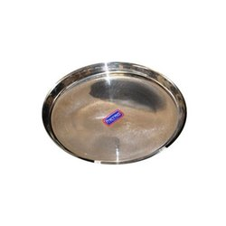 Metro Stainless Steel Dinner Plate