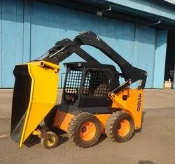 Skid Steer With Dumper Bucket
