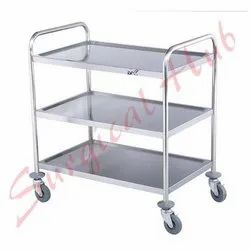 Instrument Trolley ( Three Shelves)