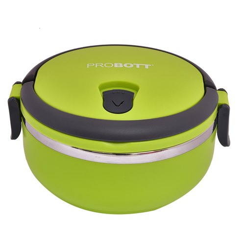 Probott Stainless Steel Food Grade Lunch Box PBH 6006, Capacity: 500 Ml