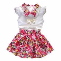 Natural Recycle Organic Cotton Skirt Top Set