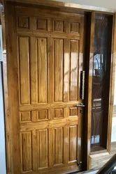 Interior Swing Teak Doors