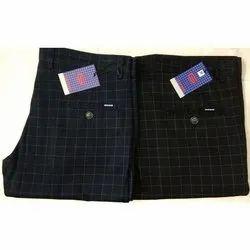 Gustrow Cotton Lycra Mens Designer Trousers, Size: 28-38