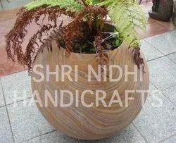 Marble Sandstone Garden Planter