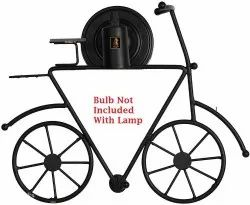 Philips Warm White Black Metal Cycle Wall Lamp Light for Home Decoration