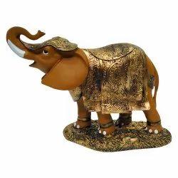 1 No Brown Elephant Statue