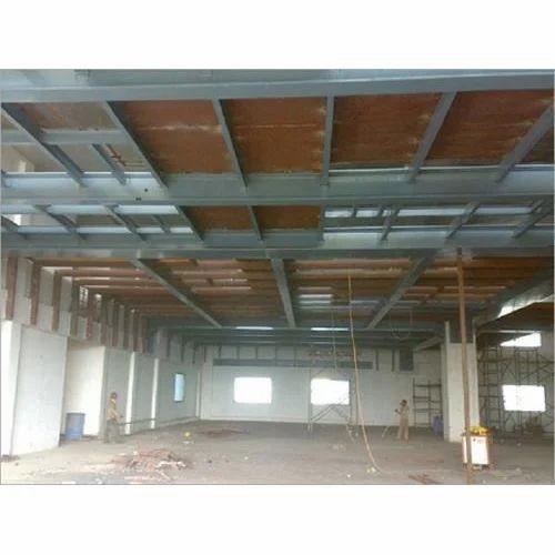 MS Mezzanine Floor Structure