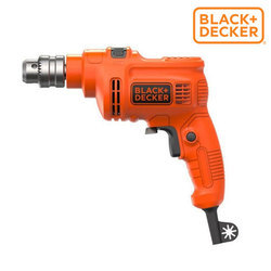 Black & Decker KR5010V Variable Speed Hammer Drill, 550 W