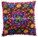 Suzani Pillows Embroidery Cushion Cover