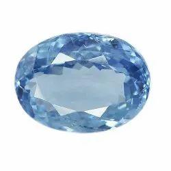 Oval Shape Natural Burma Blue Sapphire