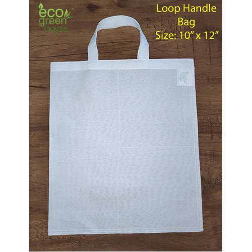 e3d4dcf00 Cotton Canvas White Cloth Carry Bag For Shopping, Rs 11 /piece | ID ...