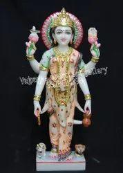 Goddess Marble Laxmi Statue