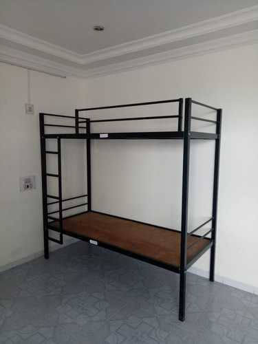 Rupnath Enterprises Black MS Bunk Bed, for Hostel