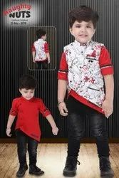 Casual Wear Boy Kids Jacket Suits, Small, Age: 1-10