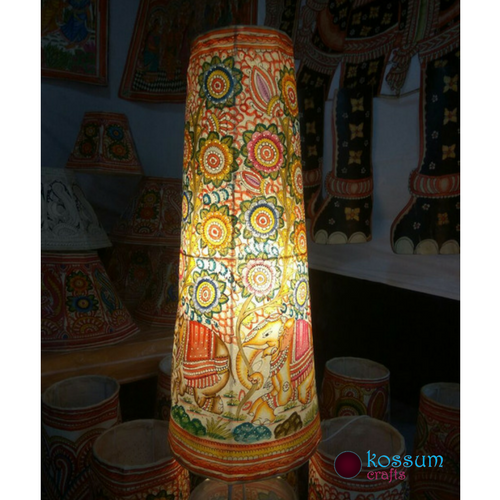 Leather Hand Painted Lamp Shades Rs 2900 Unit Kossum
