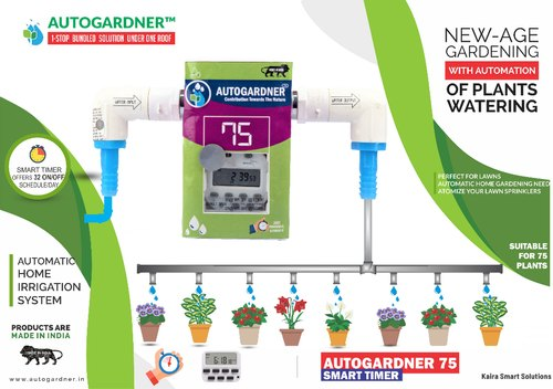 Autogardner 75 Smart Timer Automatic Plant Watering Timer Device Free Drip  Kit