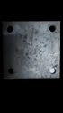 Mild Steel Base Plate 4mmx125mmx125mm, For Industries, Material Grade: 304