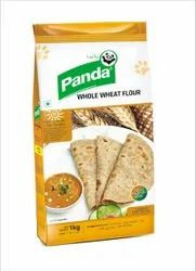 High In Protein 1 Kg Panda Whole Wheat Flour, ,Packaging Type: Packet