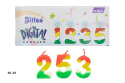 BC-03 Bittoo Digital Birthday Candle