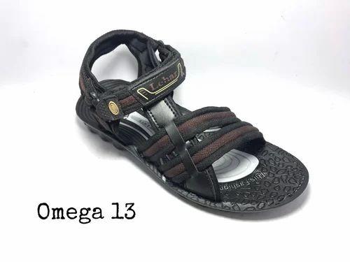 58d693c24c8a Black Lehar Mens Sandal