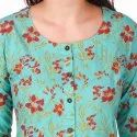 Rayon Printed Frock Style Kurti for Women