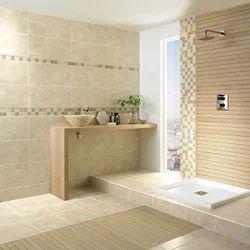 Ceramic Bathroom Tile, Thickness: 5-10 mm