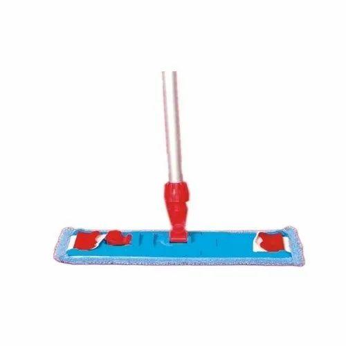 "Aluminum Microfiber dry Mop, Size: 18"""