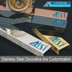 Stainless Steel U Channel, T Profile, Inlay Profile, Trims