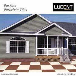 Lucent Porcelain Parking Tiles, Size: 300 x 300 mm