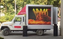 LED Mobile Van On Rent, for Indoor Type