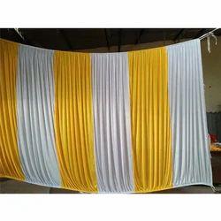 Silk Plain Wedding Curtain