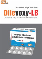 Doxycycline 100mg Lactobacillus 5 billion Spores