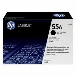 HP 55A Black Original LaserJet Toner Cartridge