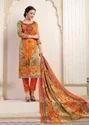 Printed Pashmina Suit