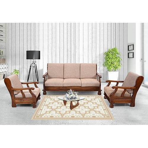 modern wooden sofa set, lakdi ka sofa set - decor & design (unit of