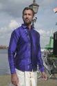Ganapati Printed Pure Silk Shirt